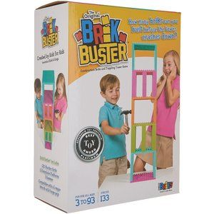 Brik Buster by Strictly Briks Tower Toppling Game